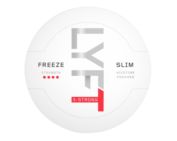 LYFT Snus Nikotiinipadjad | Freeze Slim X-Strong