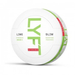 LYFT Snus Nikotiinipadjad | Lime Slim Strong