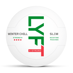LYFT Snus Nikotiinipadjad | Winter Chill Slim X-Strong