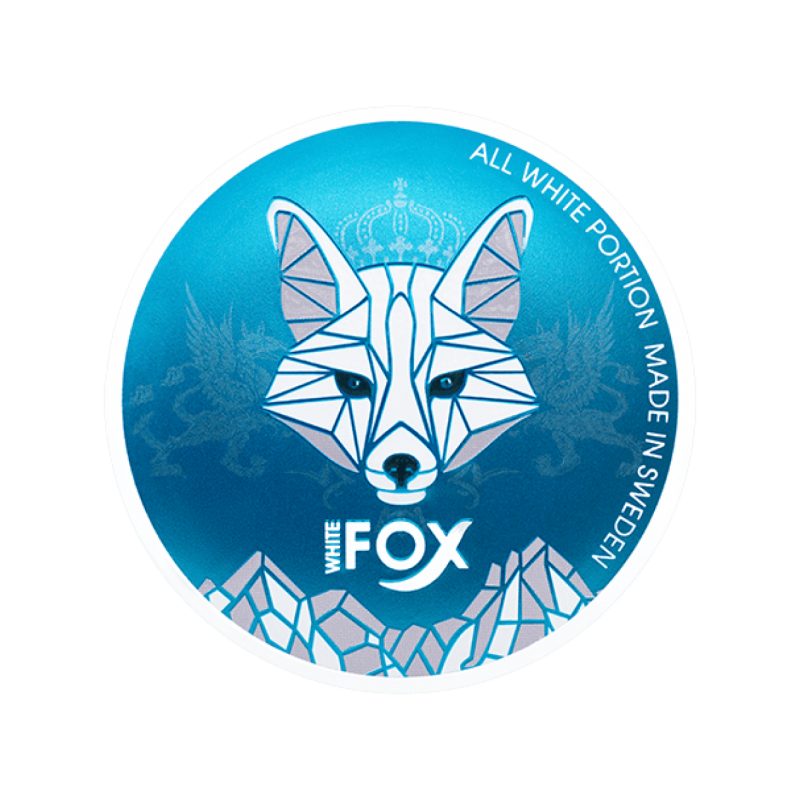 White Fox Snus Nikotiinipadjad   Blue