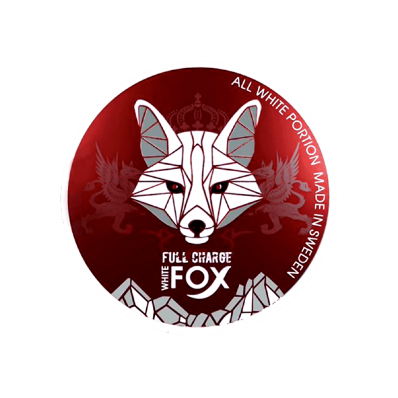 White Fox Snus Nikotiinipadjad | Full Charge