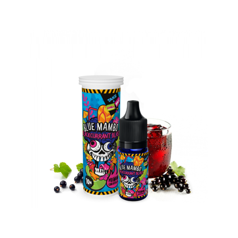 CHILL PILL Blue Mambo Blackcurrant Blast 10ml