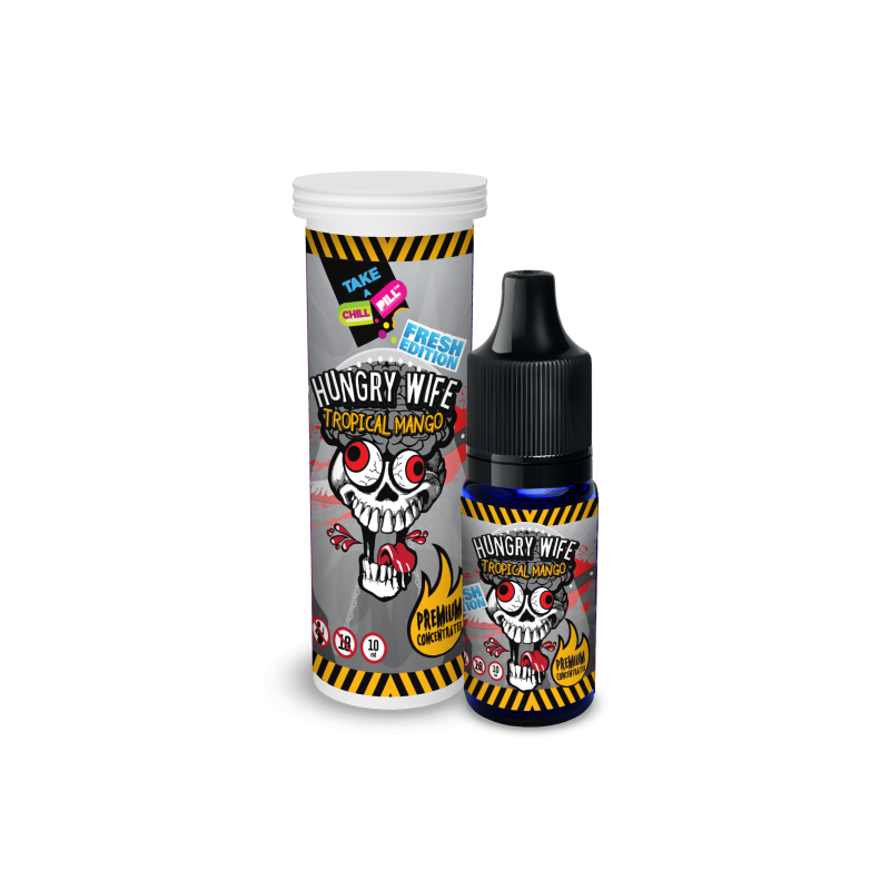 CHILL PILL FRESH Hungry Wife Tropical Mango 10ml