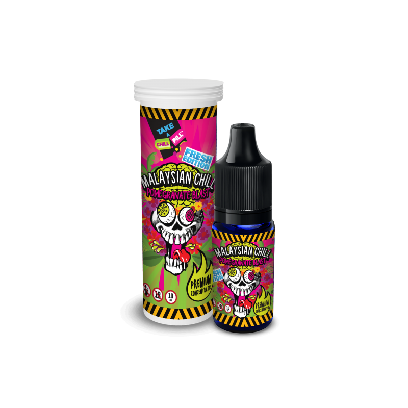 CHILL PILL FRESH Malaysian Chill Pomegranate Blast 10ml