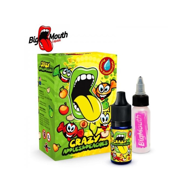 BigMouth Crazy Apple and Peaches Aroma 10ml