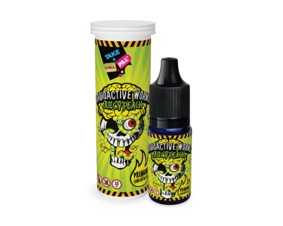 CHILL PILL Radioactive Worms Juicy Peach 10ml
