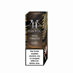 4U Kuld Tubakas | ELDA 10ML