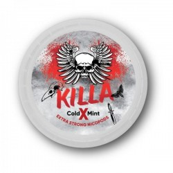 KILLA Snus Nikotiinipadjad | Cold Mint X 25mg/g