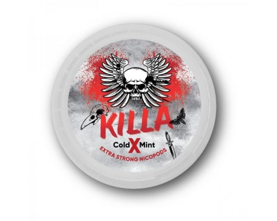 KILLA Snus Nicotine Pads | Cold Mint X 25mg/g