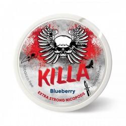 KILLA Snus Nikotiinipadjad | Blueberry 25mg/g