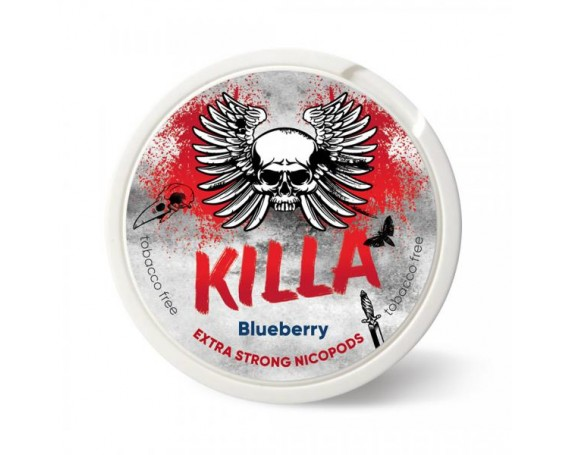 KILLA Snus Nikotiinipadjad | Blueberry 25mg/g