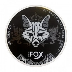 White Fox Snus Nikotiinipadjad | Black Edition