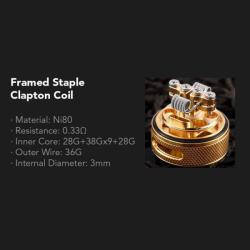 Eleaf Melo RT 25 klaas